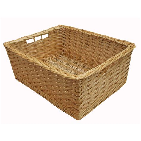 drawer pull buy wicker storage basket kitchen drawer style from the