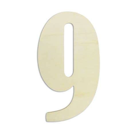 wooden numbers home depot jeff mcwilliams designs 18 in oversized unfinished wood number quot 9 quot 300428 the home depot