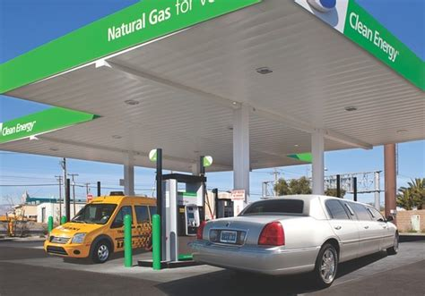 Natural-gas Cars Merge Into Wall Street Fast Lane