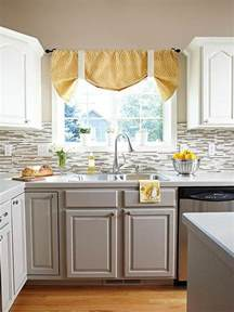 countertop for kitchen island stylish two tone kitchen cabinets for your inspiration