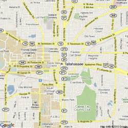 Tallahassee Florida State Map