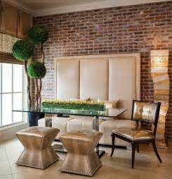 Banquette Decor by 50 Bold And Inventive Dining Rooms With Brick Walls