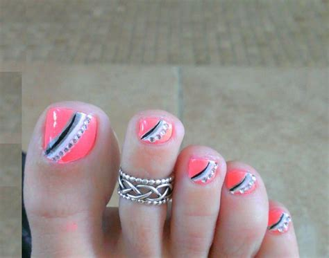 Luxury Nail Art Design : 20 Toe Nail Art Designs & Ideas For Luxury Nail Concept