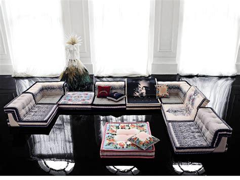 canap 233 modulable en tissu mah jong couture by roche bobois design hans hopfer