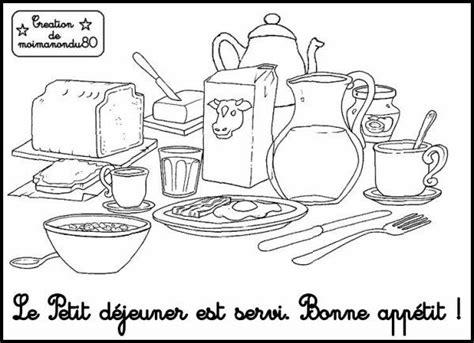 pinterest coloriage petit dejeuner yahoo image search
