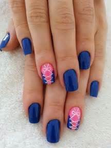 Blue nail art designs and design
