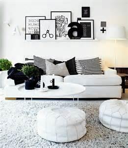 wohnzimmer mit streifen schwarz wei grau dekoration wohnzimmer weiss möbelideen