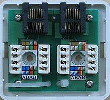Lan Cable Wiring Diagram Wall Outlet : category 5 cable wikipedia ~ A.2002-acura-tl-radio.info Haus und Dekorationen