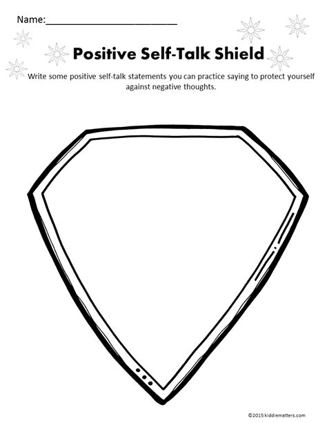 worksheet positive  talk worksheet worksheet fun