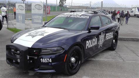 Polícia Federal En La Ciudad De México (cdmx)
