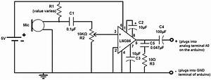 Lm386 Microphone Amplifier Circuit