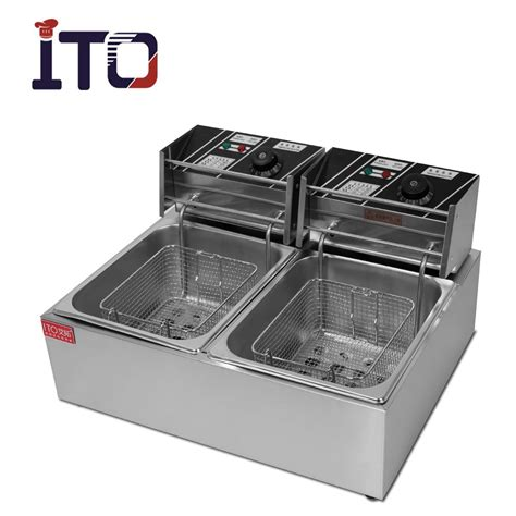 table top deep fryer ci 82 table top automatic commercial electric deep fryer