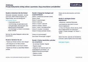 Private Unterlagen Sortieren Struktur : download anleitung 1 dokumente richtig ordnen frauen k nnen finanzen ~ Eleganceandgraceweddings.com Haus und Dekorationen