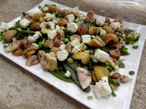 cuisiner des pois gourmand salade de pois gourmands aux châtaignes la tendresse en