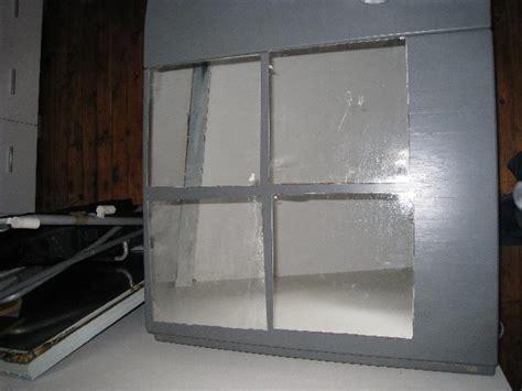 photo donne 4 miroirs carre 224 coller sur un mur pour d 233 c