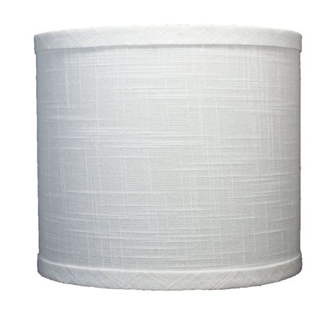 8 inch l shade urbanest linen drum l shade 8 quot x 8 inch x 7 inch off