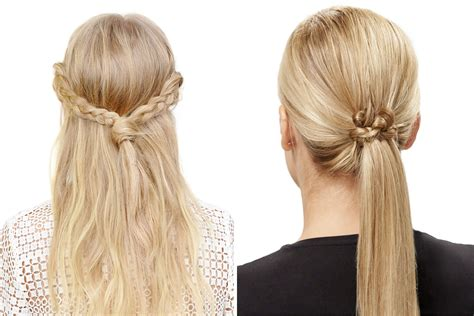 easy hairstyles   create  invisibobble teen