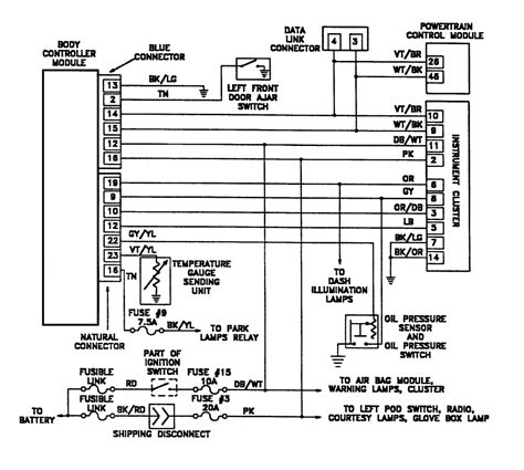 1998 Plymouth Wiring Diagram by 1992 Plymouth Voyager Gauges And Speedometer Are