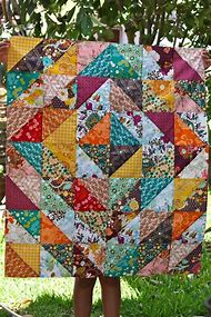 Best Half Square Triangle Quilt Patterns Ideas And Images On Bing