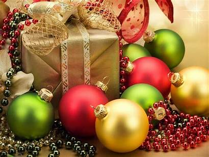 Christmas Merry Decorations Decoration Wallpapers Gifts Desktop
