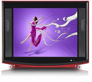 China 21 Inch Ultra Slim Color Television Crt Tv