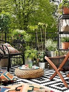 die besten 25 balkon design ideen auf pinterest kleine With balkon teppich mit tapete bambus