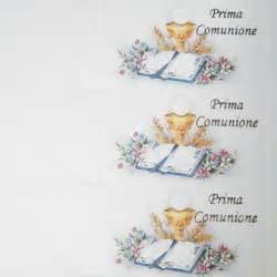Bigliettini Prima Comunione Per Bomboniere Da Stampare