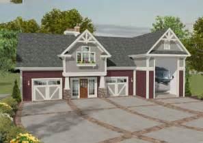 House Plans With Rv Garage by Plan 20083ga Rv Garage With Observation Deck Rv Garage