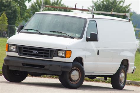 Ford E-350 Cargo Van, 1-owner, Carfax Certified