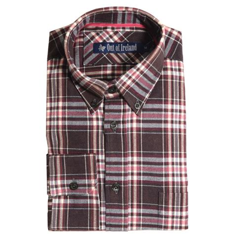 Comptoir Irlandais Bordeaux by Chemises Homme 224 Carreaux Unies Style Sportif Le