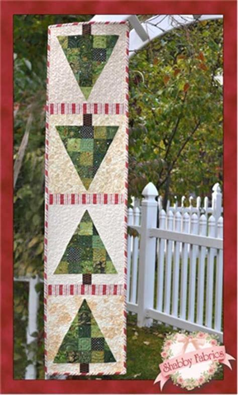 Magicforest Tree Sewing Set patchwork tree table runner kit