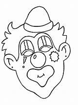 Coloring Clowns Clown Coloringpages1001 sketch template