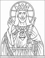 Coloring Christ King Jesus Catholic Feast Kings Printable Thecatholickid Colouring Sheets Children Activities Jehoshaphat Worksheets Kid Child Disimpan Dari sketch template