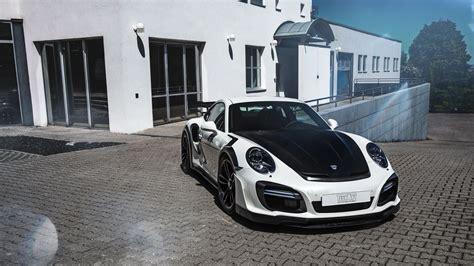 2017 Techart Porsche 911 Turbo Gt Street R Wallpaper Hd