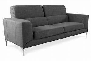 Changer Tissu Canapé : canap 3 places en tissu milord design sur sofactory ~ Nature-et-papiers.com Idées de Décoration
