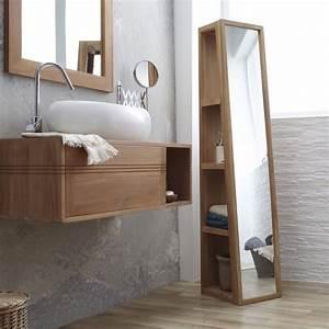 Colonne Salle De Bain Avec Miroir : colonne salle de bain pensez exploiter l 39 espace ~ Dailycaller-alerts.com Idées de Décoration