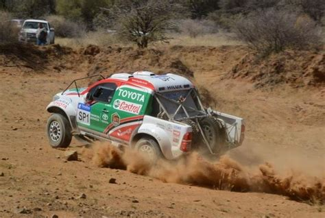 Castrol Toyota the team to beat in cross country race