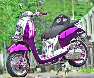 Scoopy Fi Ring 17 by Kumpulan Gambar Modifikasi Scoopy Airbrush Thailook Velg