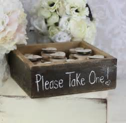 favors for wedding wedding favors wood magnets inside rustic by braggingbags
