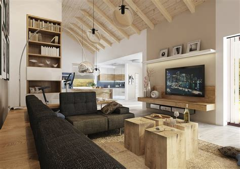 modern country home decor vision of a modern country house in moravia freshome