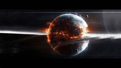 Explosion Wallpapers Sci Fi Background Fiction Backgrounds