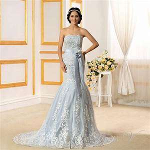online get cheap light blue wedding dresses aliexpress With light wedding dress