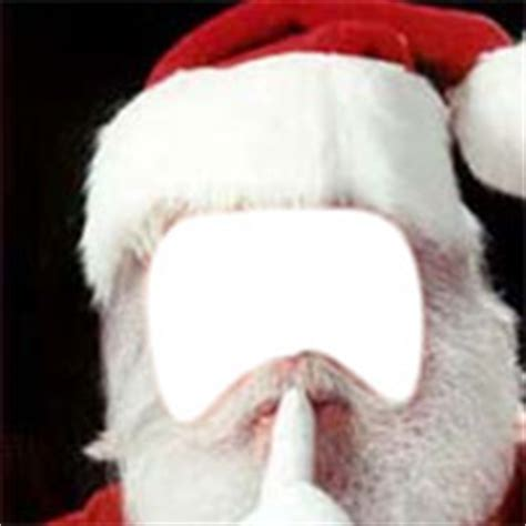 add  face funny pictures santa claus face hole