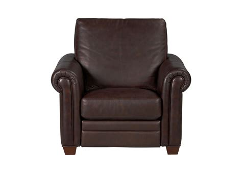Ethan Allen Recliner by Conor Leather Recliner The Conor Collection Ethan Allen