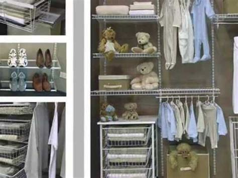organize closet with wire shelving youtube