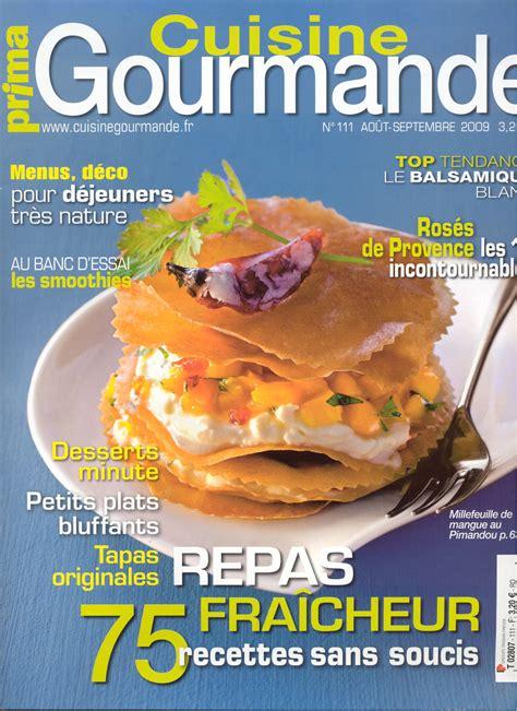 gourmand magazine cuisine revue de presse de l 39 usage des douceurs