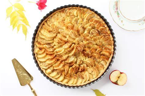 tarte aux pommes recette recette facile et rapide lunakim