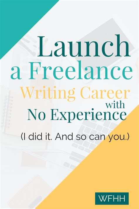 starting a freelance writing career with no experience