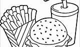 Hamburger Getdrawings sketch template