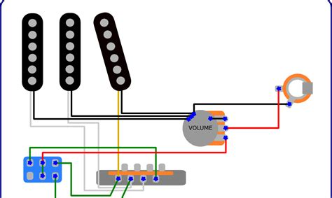 Master Volume Guitar Wiring by The Guitar Wiring Diagrams And Tips Dale